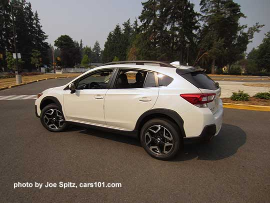 2018 subaru crosstrek white. Wonderful Crosstrek 2018 Subaru Crosstrek Limited With Crystal Black Rear Spoiler 18 Intended Subaru Crosstrek White 1