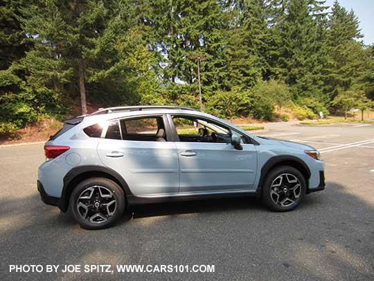 2018 Subaru Crosstrek Limited Cool Gray Khaki Color This Changes Depending On Sunlight