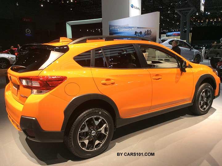 2018 Subaru Crosstrek Sunshine Orange Ny Auto Show