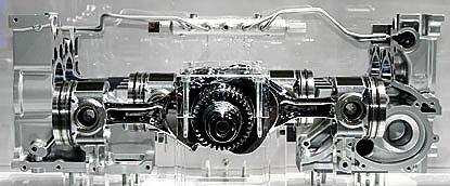 the diesel engine shownat the 77th Geneva International Motor Show in