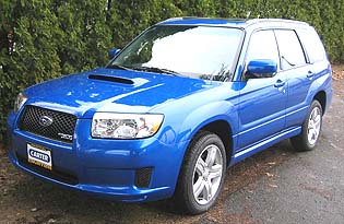 2007 Subaru Forester prices, options, colors, specs, images