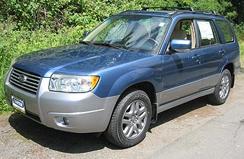 2008 subaru forester specifications