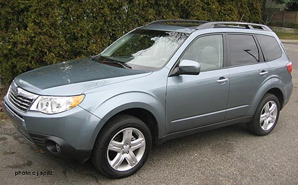 2009 forester ground clearance