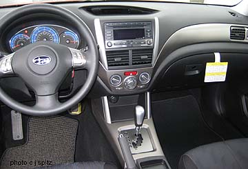 2009 Subaru Forester Interior Photos And Images