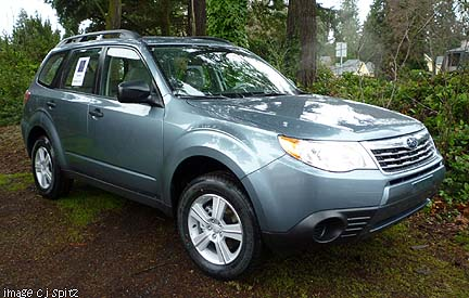 2010 Subaru Forester- specs, images, details, prices