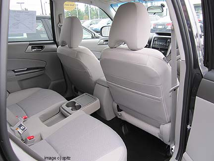 2013 Subaru Forester Interior Photographs And Images
