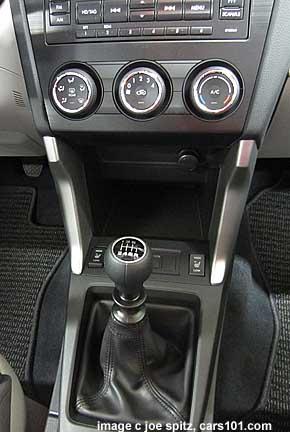 2014 subaru forester manual transmission