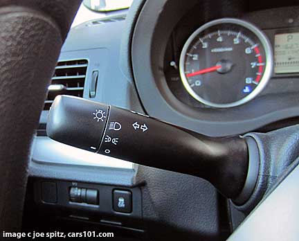 2014 forester headlight switch