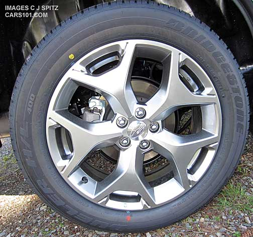 Top Level Foresters Come With 18 Alloy Wheels