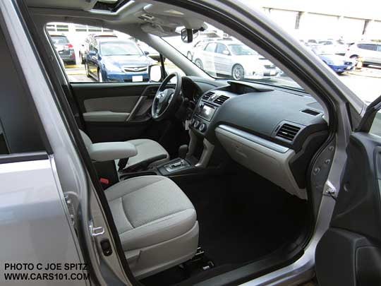 2015 Subaru Forester, interior photos