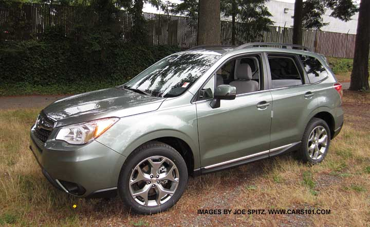 2017 Subaru Forester 2 5 Touring Jasmine Green Color