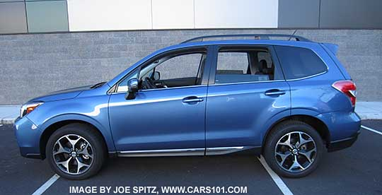 2015 Subaru Forester research webpage
