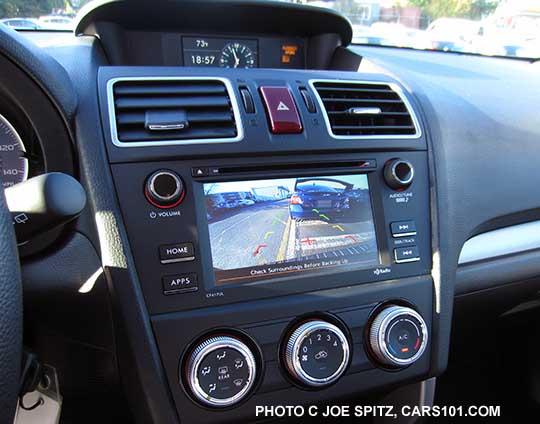 2016 Subaru Forester Interior Photos
