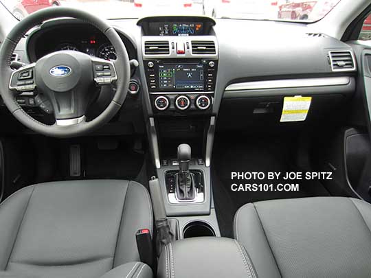 2016 Subaru Forester 2 0xt Touring Interior