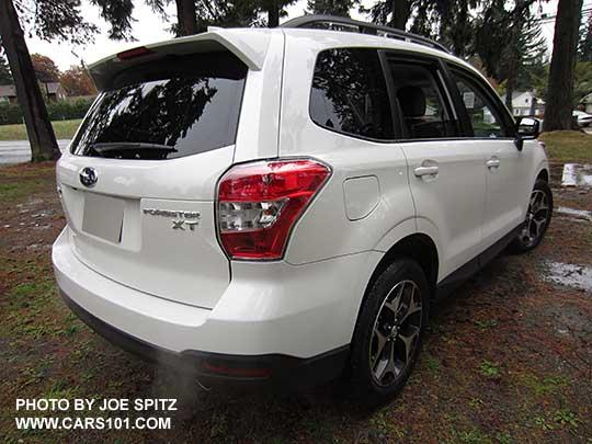 2016 White Subaru Forester 2 0xt Premium