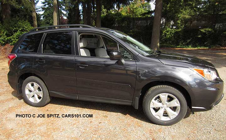 2016 Subaru Forester research webpage