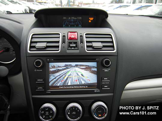 2017 Forester 2 5i Base Model 6 Audio Screen With Rear View Backup Camera