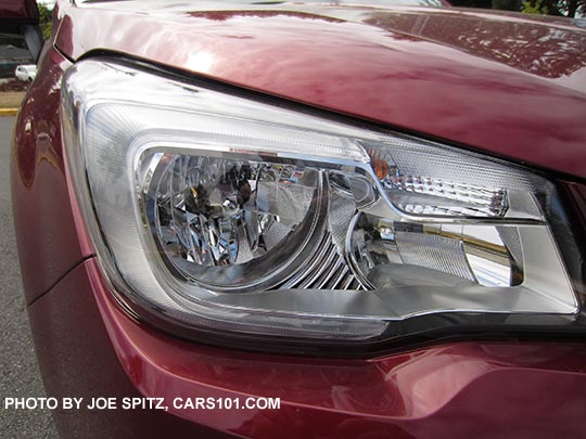 2017 Subaru Forester Halogen Headlights 2 5i Premium Limited Without Eyesight