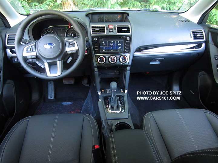 2017 Subaru Forester Interior Photos