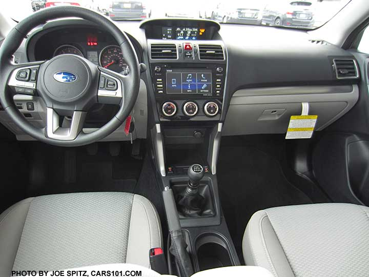 2017 Subaru Forester Interior Photos