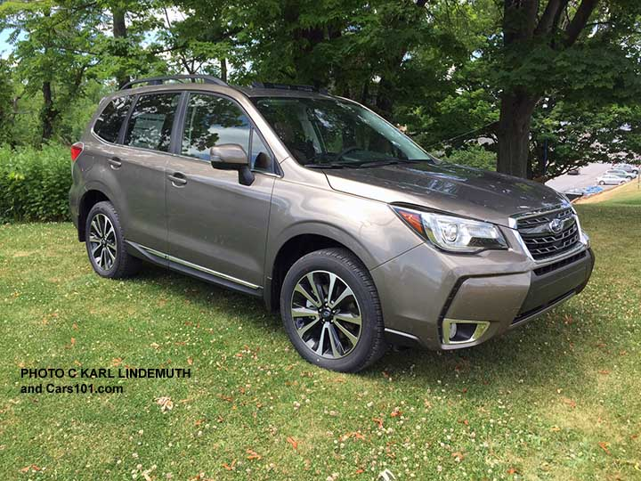 2017 Forester Touring With Sepia Bronze Metallic Color 2 0xt Model Shown Photo By