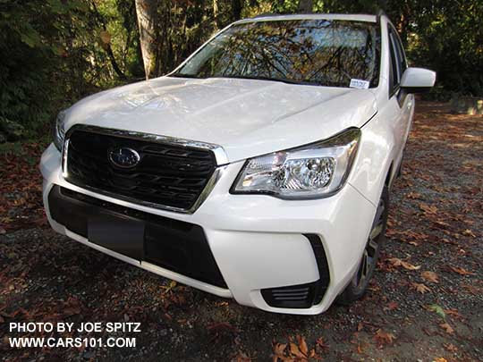 Front View 2017 Subaru Forester 2 0xt Premium Crystal White Color