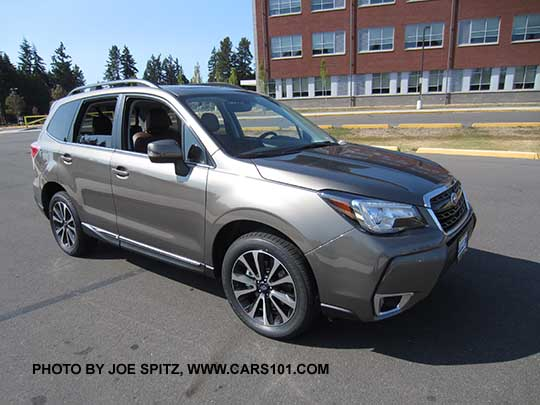 2018 Subaru Forester Research Webpage