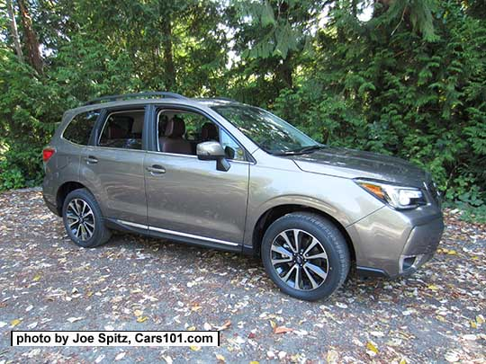 2017 Forester 2 0xt Touring With Chrome Rocker Panel Strip And Fog Light Trim Sepia