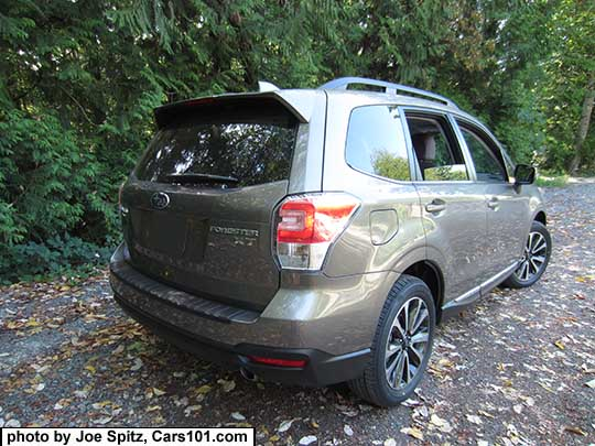 2017 Forester 2.0XT Touring. Sepia Bronze Metallic color shown. 18 ...