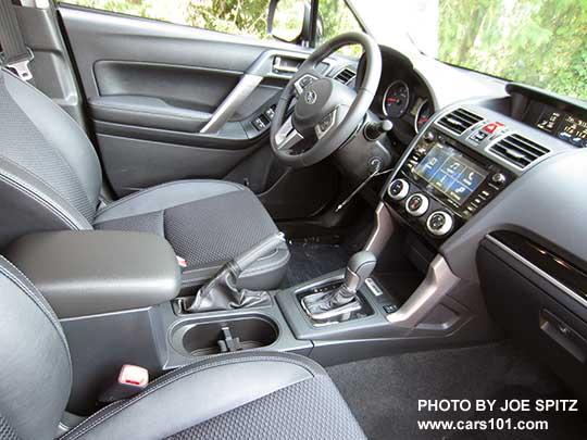 2018 And 2017 Subaru Forester Interior Photos