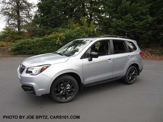 New Package 2018 Forester Premium Cvt Black Edition Has 18 Alloys