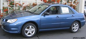 2007 subaru impreza horsepower