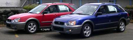 subaru 2004 impreza outback sport rs ts wrx sti prices options cars101 com