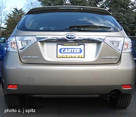 2009 Impreza Photos Of The 2 5i And Premium Exterior And