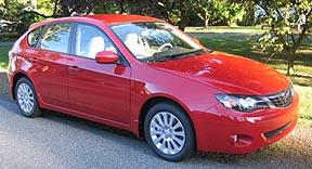 2008 Impreza Wagon | The Wagon