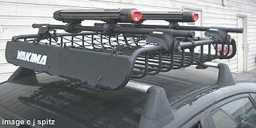 2008, 2009 Impreza Roof Rack Snow Board Accessories