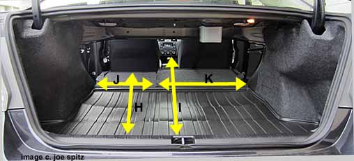 More 2017 Subaru Impreza Trunk Dimensioneasurements