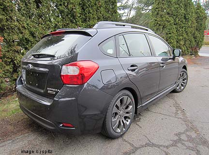 2012 Impreza Subaru specs options dimensions and more