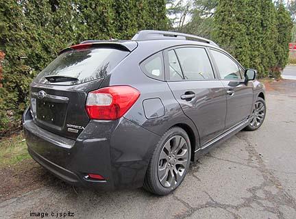 2012 Impreza Subaru Specs Options Dimensions And More