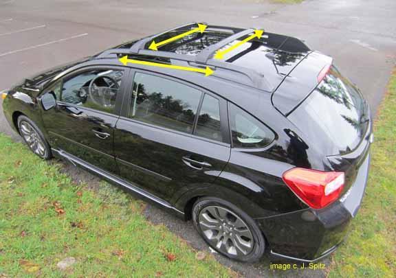 2013 Impreza Subaru specs options dimensions and more