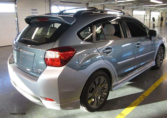 2012 Impreza options and upgrade photos