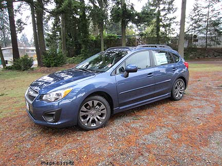 2013 Impreza Subaru Specs Options Dimensions And More