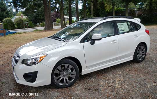 2013 Impreza Exterior Photos And Images