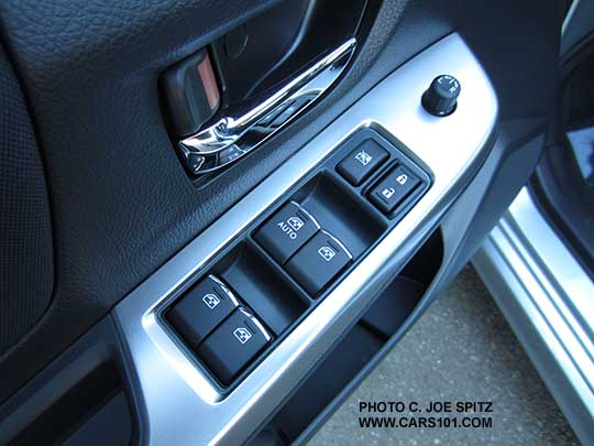 Interior Door Window Switch Cover Removal Subaru Impreza