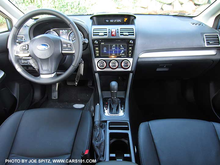 2015 Impreza Interior Photos And Images