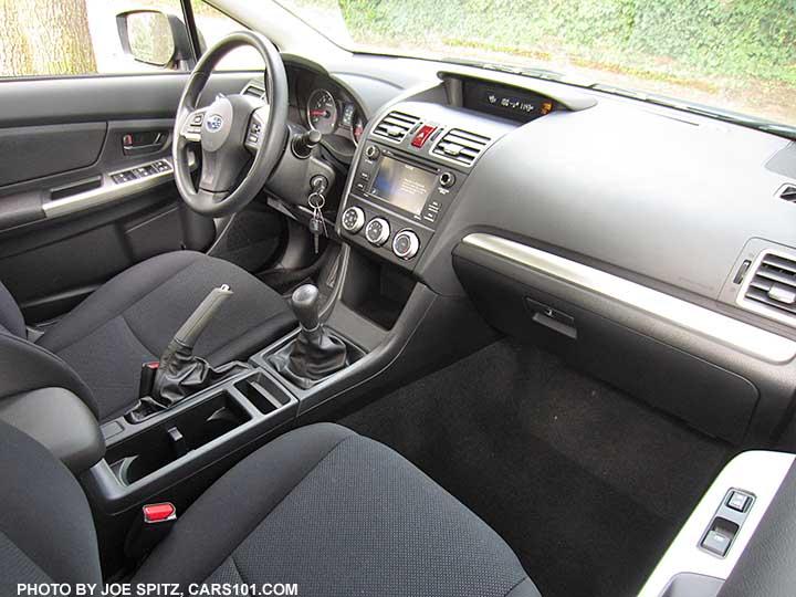 2015 impreza interior photos and images rh cars101 com manual subaru impreza 2014 manual subaru impreza 2014