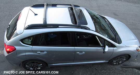 2015 Impreza Sport 5 Door Hatchback With Optional Roof Rack Aero Crossbars