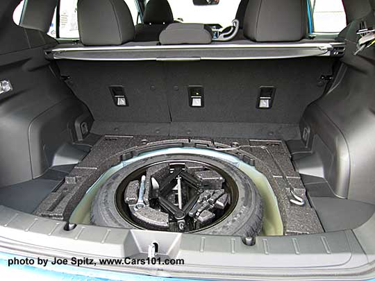 Model Year 2018 And Newer Reduced Cargo Space From Bigger Spare Tire