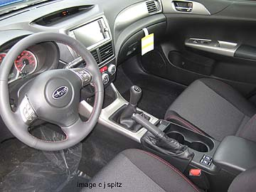 2010 Wrx Sti And 2 5gt Interior Images And Photographs