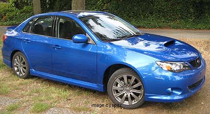 2008 Subaru Impreza Wrx >> 2009 Subaru WRX exterior images and photos